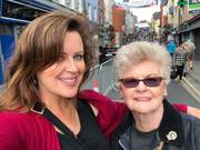 mack and her mom at Fleadh
