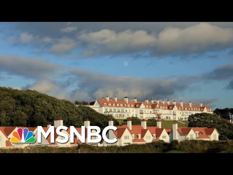 Air Force Crew Multiple stops President Trump Scottish Resort MSNBC Morning Joe