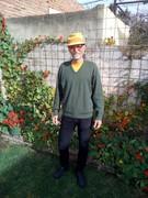 Hugo en jardín 22-08-2019