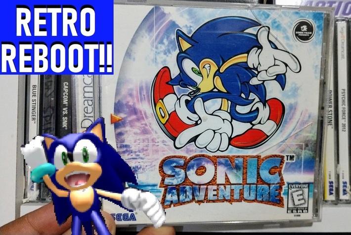 Retro Reboot Sonic Adventure Sega Dreamcast Game Fix