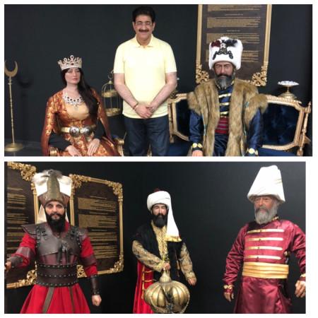 Sandeep Marwah Invited at Antalya Museum in Turkey