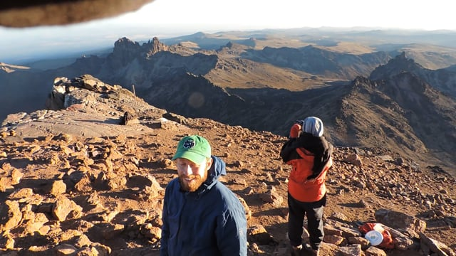Mount Kenya Trekking - YHA Kenya Travel Mountain Adventures