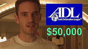 $50,000 ADL Donation