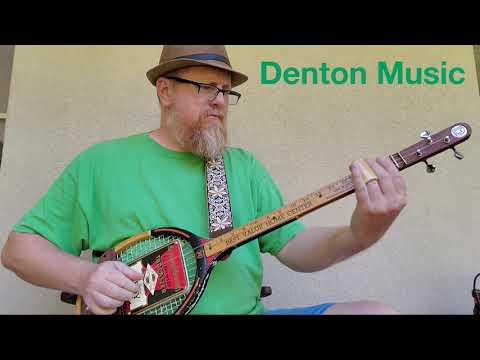 Denton Music - Money (Tennis Racket Guitar)