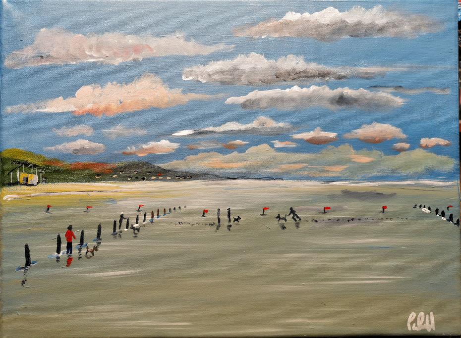 Berrow sands Somerset