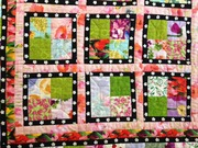 Quilt #158 - Garden Window blocks
