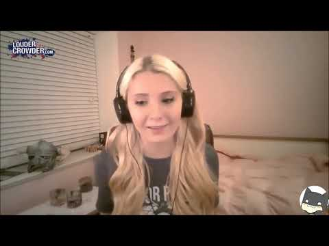 Lauren Southern or shall I say ((Simonsen)) a Zionist shill
