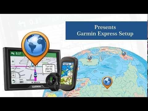 How to Update Garmin using Garmin Express Software on Garmin.com/express ?