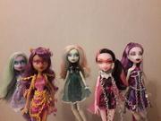 Haunted dolls.
