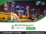 Blissful Singapore - Singapore Tour Packages