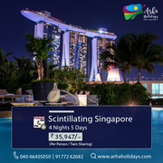 Scintillating singapore - Singapore travel packages