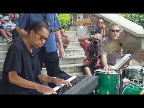 Jazz Workshop Inc Presents Jazz on the steps with Dr. James Johnson in Homewood