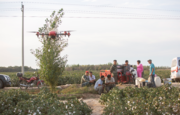 Chinese farmers empowered by drone technology