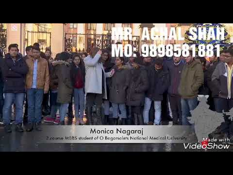 Indian Students Review About O.O. BOGOMOLETS National Medical University, KYIV, Ukraine