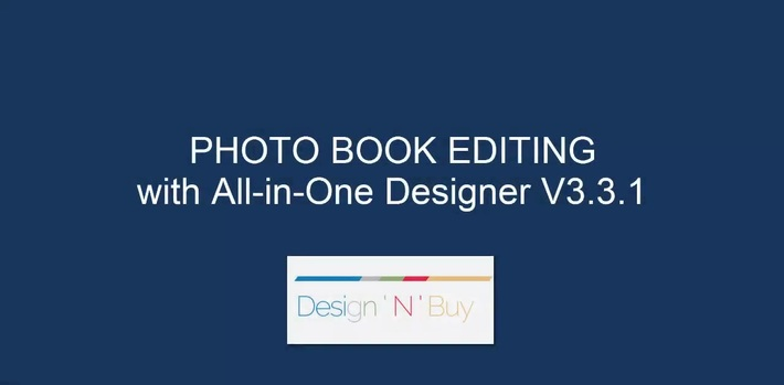 Easy to Use Web-To-Print Designer For Photo Book Editing on Desktop