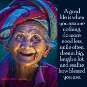 what is a good Life?