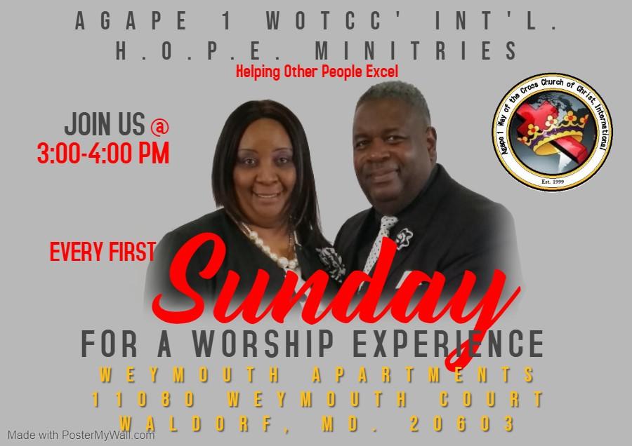 Copy of Sunday Worship Invitation