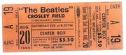 The Beatles - tickets, posters, and magazines