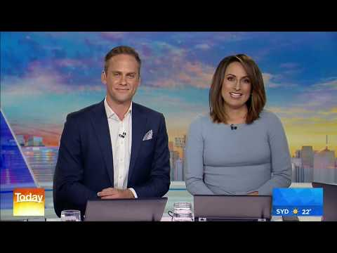 """Australian news anchors report that the """"outbreak of lung disease [is] not due to vaping nicotine."""