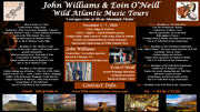 John Williams, Eoin O'Neill & Wild Atlantic Music Tours