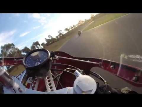 2014 Victorian Historic Championship (Honda CB77 500) Broadford race track