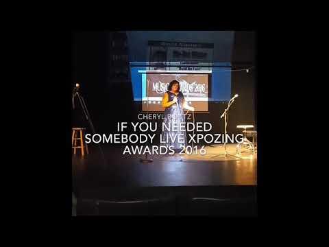 Cheryl Boutz - If You Needed Somebody-Live Performance XPOZING Music Awards 2016