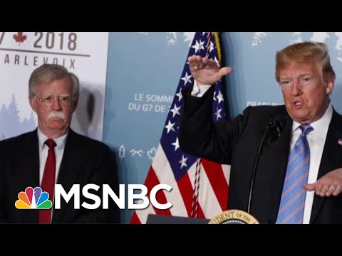 President Donald Trump fires 3 different National Security Advisors| MSNBC