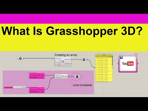 What is Rhino Grasshopper 3D