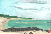 Le Men Dû - La plage