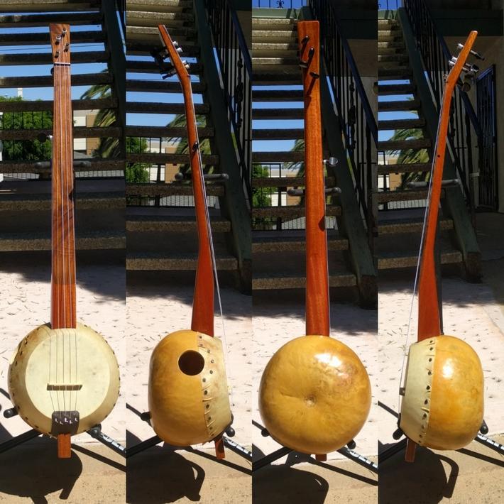 Gourd banjo #23