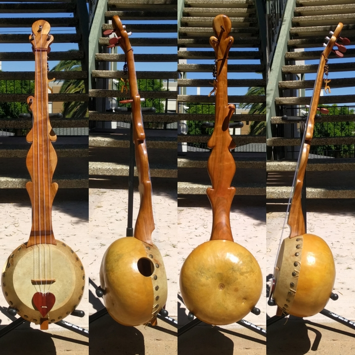 Gourd banjo #22