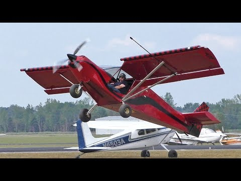 "Zenith STOL ""Sky Jeep"" at the AOPA STOL Invitational"