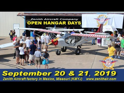 Zenith Open Hangar Days & Fly-In 2019: Preview