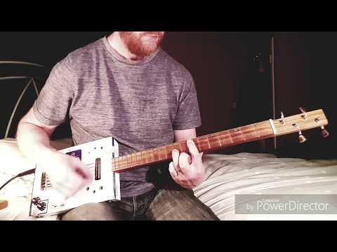 God Save The Queen - Sex Pistols - Cigar Box Guitar Cover