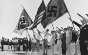 US nazi rally
