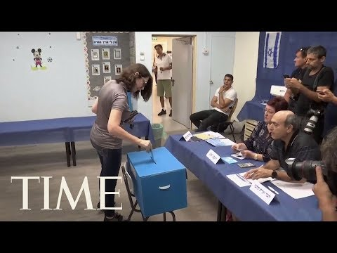 Israelis Are Voting In An Unprecedented Repeat Election Centered On PM Benjamin Netanyahu | TIME