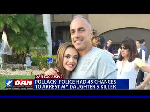 Father of Parkland Victim: Police had 45 chances to arrest my daughter's killer