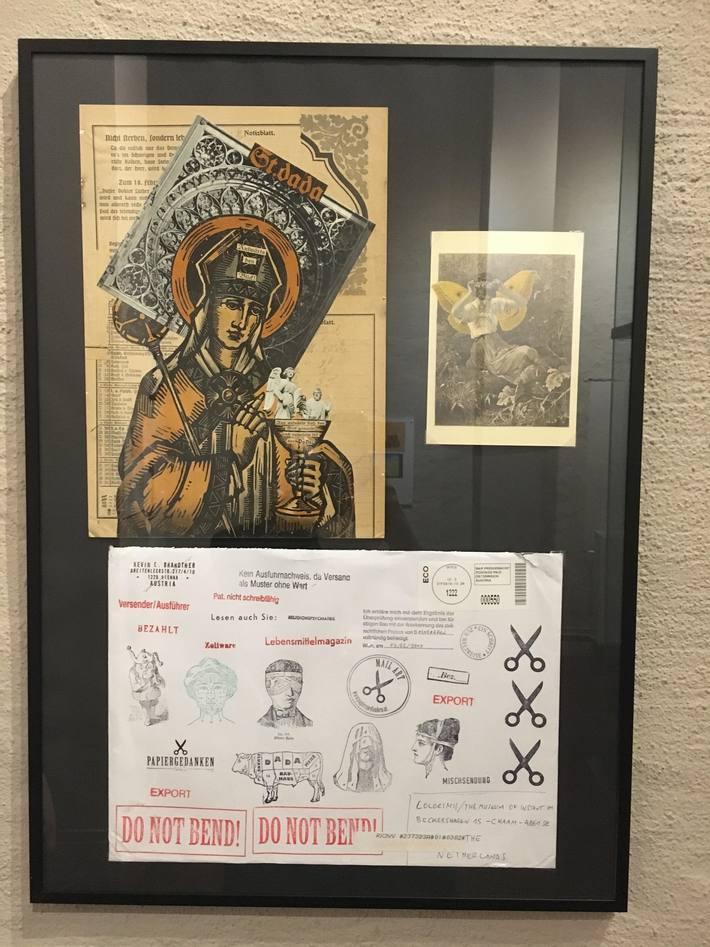 St. Dada + envelope