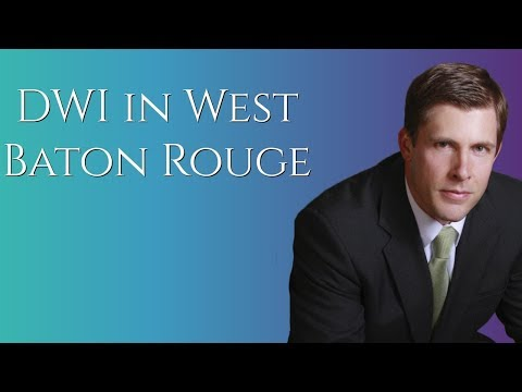 DWI Lawyer in West Baton Rouge Parish | Carl Barkemeyer, Criminal Defense Attorney