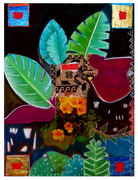 Oaxaca 1 - Mixed Media on paper - 22x30