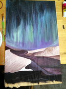 sand dune aurora borealis wip~