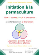 Initiation à la permaculture à Saint Priest des champs / Novembre
