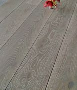 Grey Brush & Oiled Engineered Wood Flooring