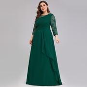 Bride-Mother-Dress-Plus-Size-Evening-Party-Gowns-2019-Elegant-Lace-A-line-Chiffon-Long-Sleeve_0