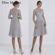 Chiffon-Mother-of-the-Bride-Groom-Dresses-2019-for-Summer-Boat-Neck-Lace-Ruffles-Knee-Length_0