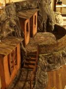 Hanging Monastery composite set for The Extraordinary Revolution of the Firebird.
