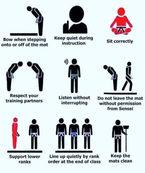 judo etiquette