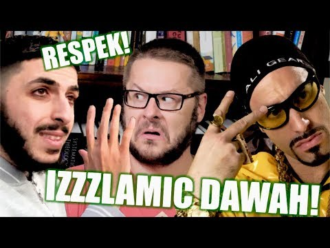 ALI G DAWAH! (Islamic Lessons on Puberty and Marriage at Speakers' Corner)