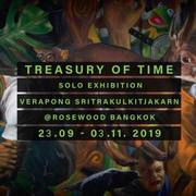 """นิทรรศการ """"คลังแห่งเวลา"""" (Treasury of Time)"""