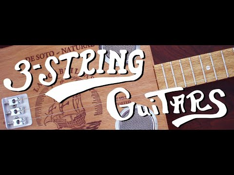 3 String Guitar Story - Recored on Acoustic 3 string with original story by John McNair